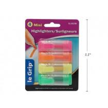 Selectum Mini Highlighters ~ 4 per pack