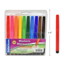 Selectum Washable Markers ~ 10 per pack