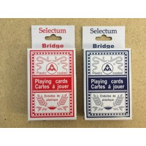 Selectum Bridge Size Playing Cards