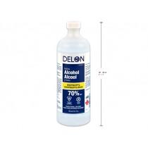 Delon Isopropyl Rubbing Alcohol 70% ~ 450ml