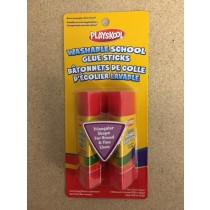 Playskool Washlable Glue Stick ~ 2 x 15gram