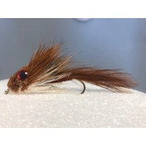 Brown Sculpin Muddler Minnow with Eyes
