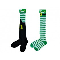 "St. Patrick's Day 25.5"" Thigh High Socks"