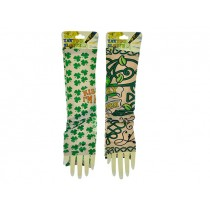 St. Patrick's Day Fake Tattoo Sleeves ~ 2 per pack