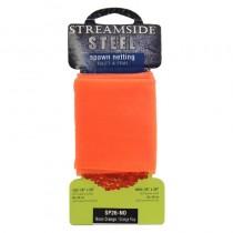 "Streamside Steel Spawn Netting - 26"" x 26"" ~ NEON ORANGE"