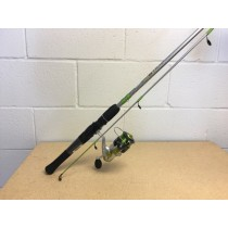 "Zebco Stinger Medium 6'6"" Spinning Combo ~ 2 pieces"