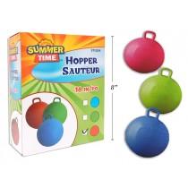 "Solid Color Hopper Ball ~ 18"""