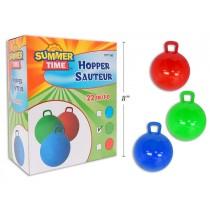 "Solid Color Hopper Ball ~ 22"""
