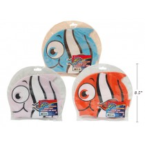 Children's Silicone Fish Swim Cap