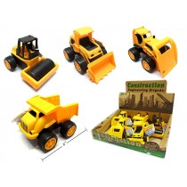 "6"" Classic Construction Trucks ~ 8 per display"