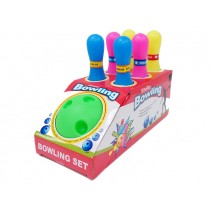 Plastic Neon Bowling Set ~ 7 pieces