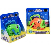 Friction Fish Bubble Machine with Bubbles