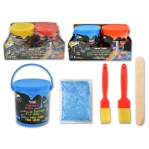 Washable Sidewalk Chalk Paint - 49gr ~ 2 per pack