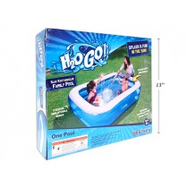 "Inflatable Rectangular Family Pool ~ 79"" x 59"" x 20"" high"