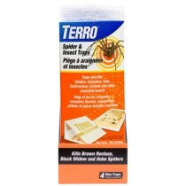 Terro Spider & Insect Glue Traps ~ 4 per pack