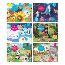 Jigsaw Puzzle - Kid's 6 assorted designs ~ 100 pieces