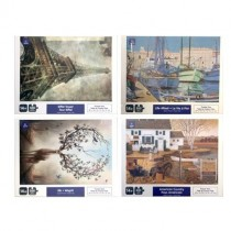 Jigsaw Puzzle - 4 assorted Scenes ~ 500 pieces