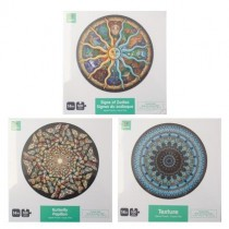 Jigsaw Puzzle - 3 assorted Round ~ 500 pieces