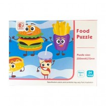 Jigsaw Puzzle - Kid's Food ~ 24 pieces