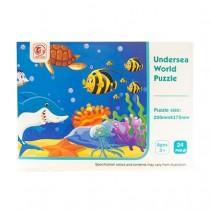 Jigsaw Puzzle - Kid's Undersea World ~ 24 pieces