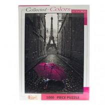 Jigsaw Puzzle - Pink Umbrella ~ 1000 pieces