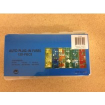 Auto Plug-In Fuse Assortment ~ 120/box