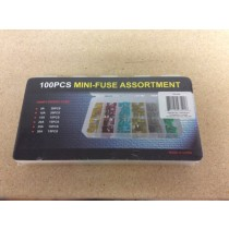Mini Auto Fuse Assortment ~ 100/box