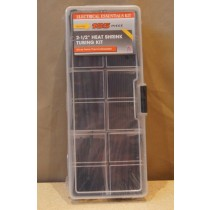 Black Heat Shrink Assortment Kit ~ 185 pieces
