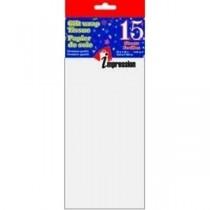 Tissue Paper - WHITE ~ 15 per pack