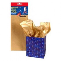 Tissue Paper - GOLD ~ 6 per pack