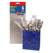 Tissue Paper - SILVER ~ 6 per pack