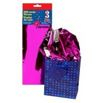 Tissue Paper - METALLIC PURPLE ~ 3 per pack