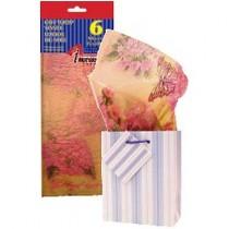 Tissue Paper - LAVENDER W/BUTTERFLIES ~ 6 per pack