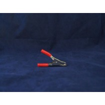 Battery Clamp - Spring ~ Red