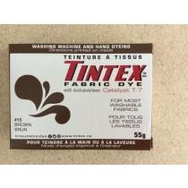 Tintex Fabric Dye 55gr ~ 15 - Brown