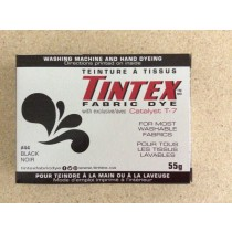 Tintex Fabric Dye 55gr ~ 44 - Black