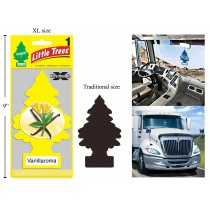 Little Tree Air Fresheners X-tra Strength - Jumbo Size ~ Vanillaroma