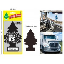 Little Tree Air Fresheners X-tra Strength - Jumbo Size ~ Black Ice