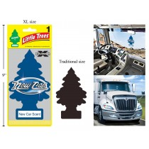 Little Tree Air Fresheners X-tra Strength - Jumbo Size ~ New Car