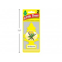 Little Tree Air Fresheners - 2 per pack ~ Vanillaroma