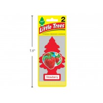 Little Tree Air Fresheners - 2 per pack ~ Strawberry