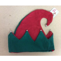 Felt Elf Hat w/Bells