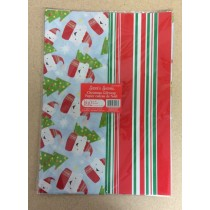 Christmas Flat Wrap ~ 5 sheets