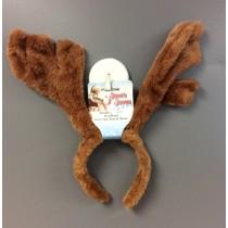 Reindeer Antlers w/Holly Bell