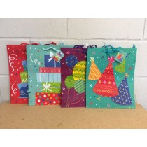Large Gift Bags ~ Birthday no words