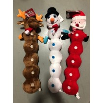 Christmas Extra Long Pet Plush Toy ~ 25""