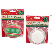 "Christmas Baking Cups 2"" ~ 50/pk"