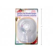 Christmas Lever-Lock Suction Wreath Hanger ~ 1 per pack