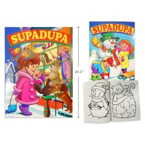 Christmas Supadupa Coloring Book ~ 256 pages
