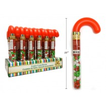 Christmas Plastic Cane with Jellybeans